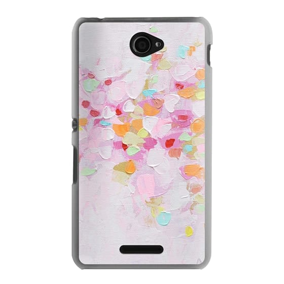 Sony E4 Cases - Carnival Rosa