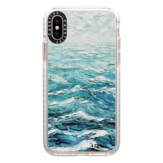 iPhone XS Cases - Windswept Sea