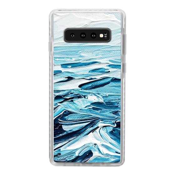 Samsung Galaxy S10 Cases - Waves Crashing