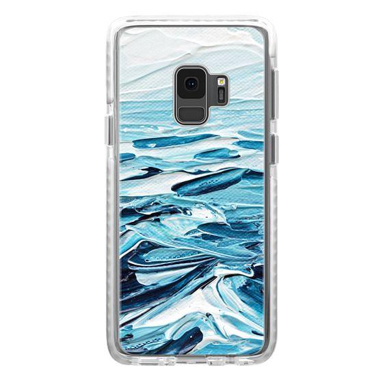 Samsung Galaxy S9 Cases - Waves Crashing