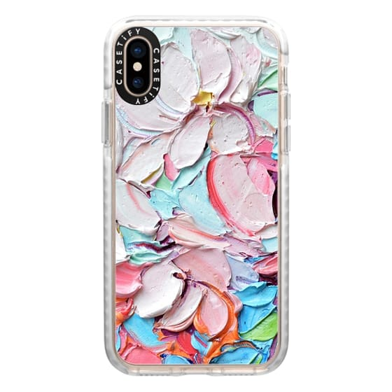 iPhone XS Cases - Cherry Blossom Petals
