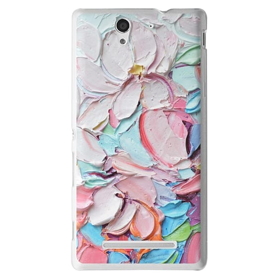 Sony C3 Cases - Cherry Blossom Petals