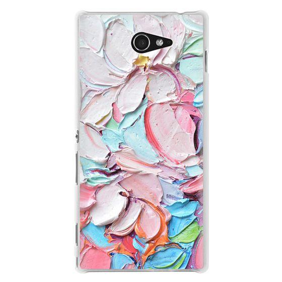 Sony M2 Cases - Cherry Blossom Petals
