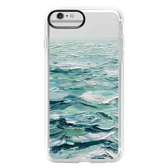 iPhone 6 Plus Cases - Minty Sea