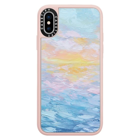 iPhone X Cases - Atlantic Ocean Sunrise