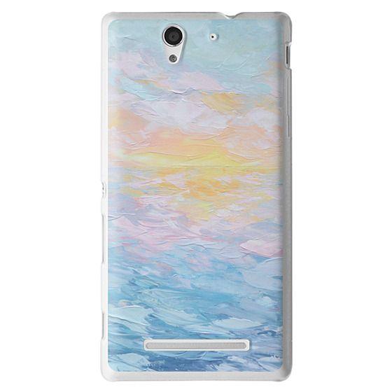 Sony C3 Cases - Atlantic Ocean Sunrise