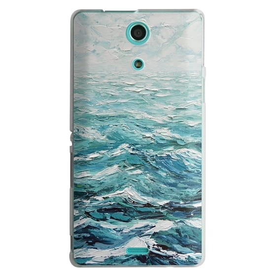 Sony Zr Cases - Windswept Sea