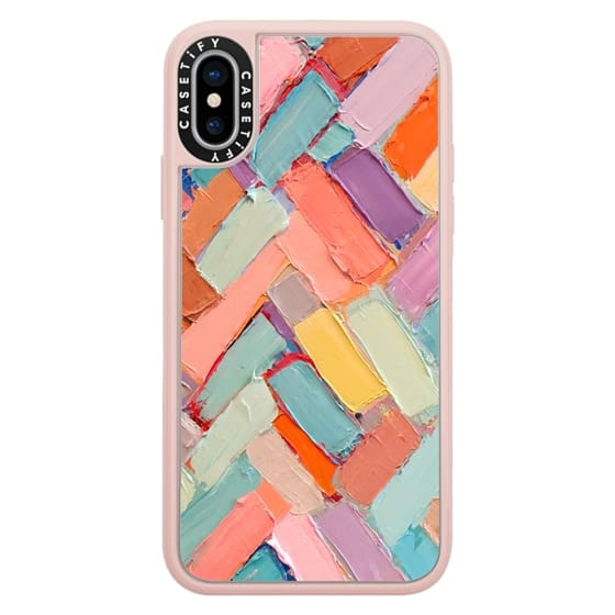 iPhone X Cases - Peachy Internodes