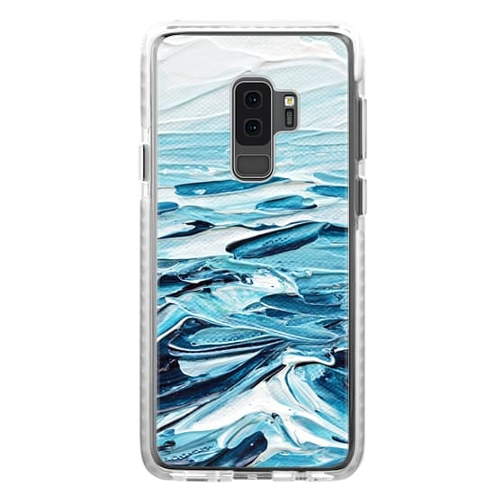 Samsung Galaxy S9 Plus Cases - Waves Crashing
