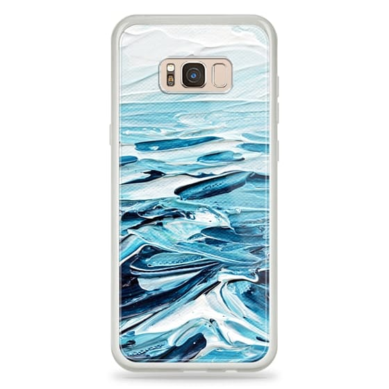 Samsung Galaxy S8 Plus Cases - Waves Crashing