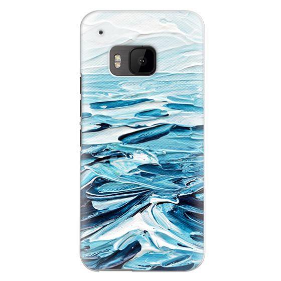 Htc One M9 Cases - Waves Crashing