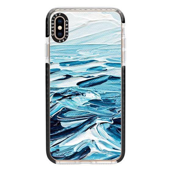 iPhone XS Max Cases - Waves Crashing