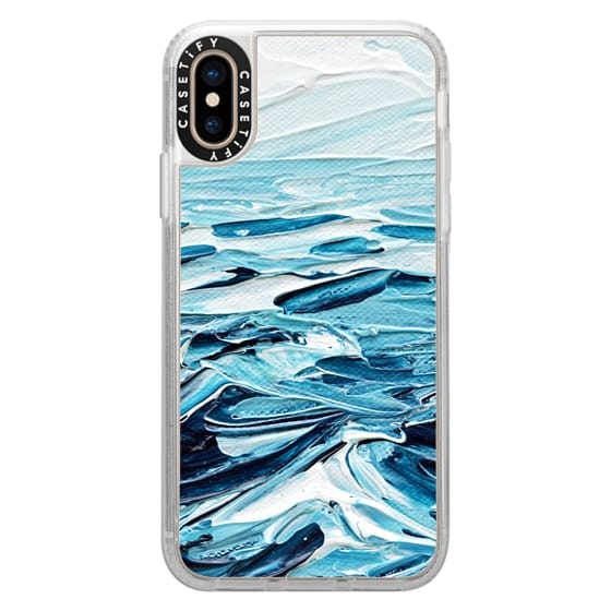 iPhone XS Cases - Waves Crashing