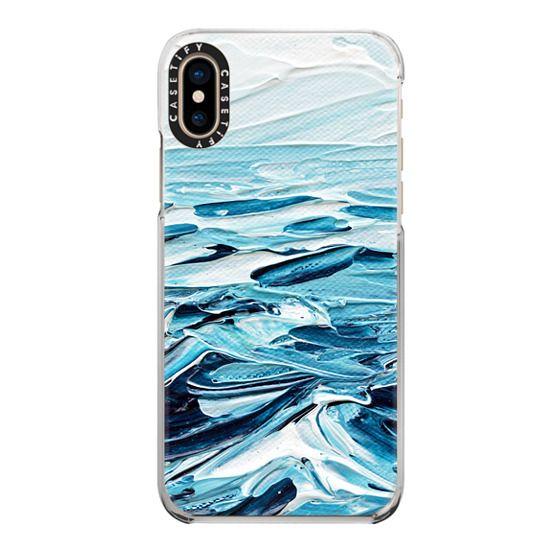 iPhone XS Cases - Waves Crashing