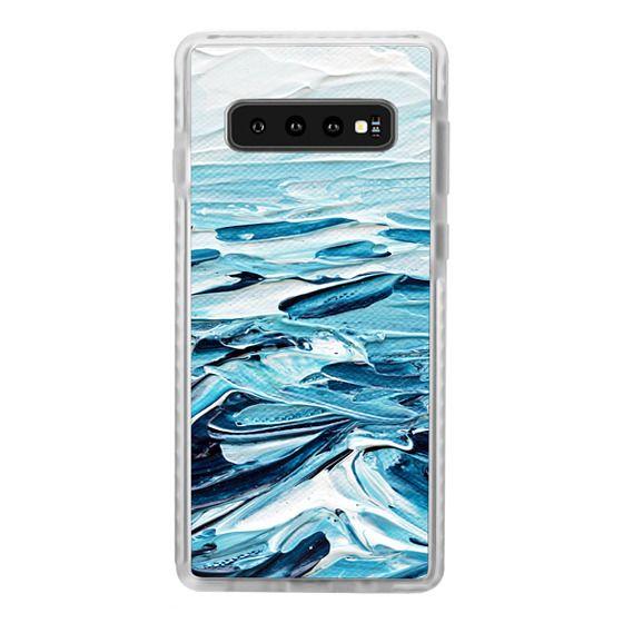 Samsung Galaxy S10 Plus Cases - Waves Crashing