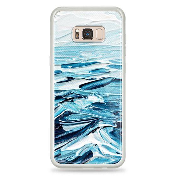 Samsung Galaxy S8 Plus Cases - Waves Crashing