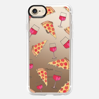 iPhone 7 Case PIZZA AND WINE NIGHT