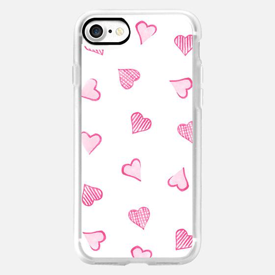 Pink Hearts -
