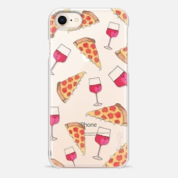 iPhone 8 Case PIZZA AND WINE NIGHT