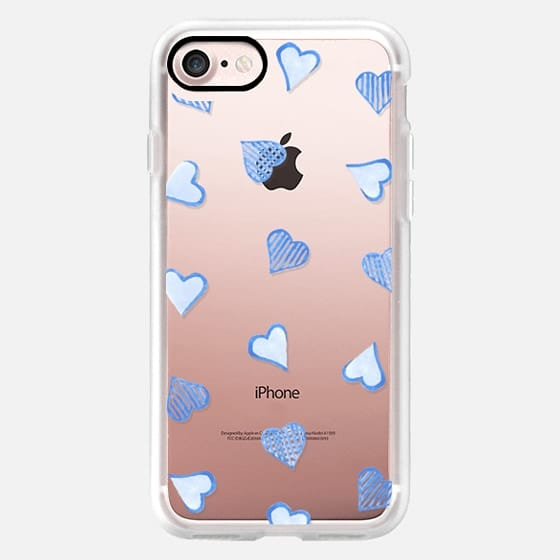 Blue Hearts Clear -