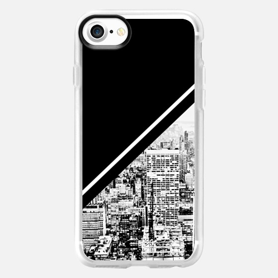 BLACK AND WHITE CITY COLOR BLOCK GRAPHIC OFFICE BUILDINGS NEW YORK MASCULINE DAD MEN -