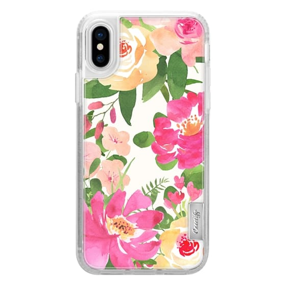 iPhone 6s Cases - WATERCOLOR ROSES ON CREAM PINK BOHO FESTIVAL BRIDE MOM BEAUTIFUL PRETTY GIRL BOSS