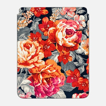 "iPad Pro 12.9"" Sleeve Red Flowers"