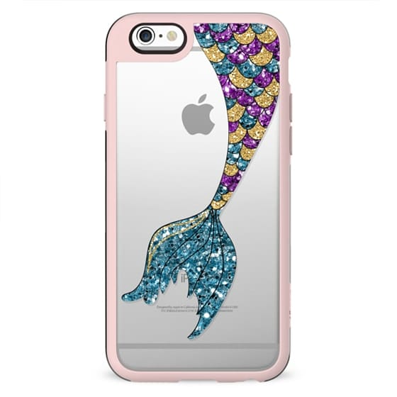 glitter mermaid tail