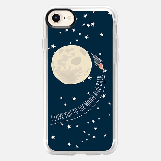 i love you to the moon and back - Snap Case