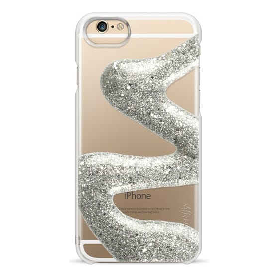 iPhone 6s Cases - Silver Glitter Nail Polish