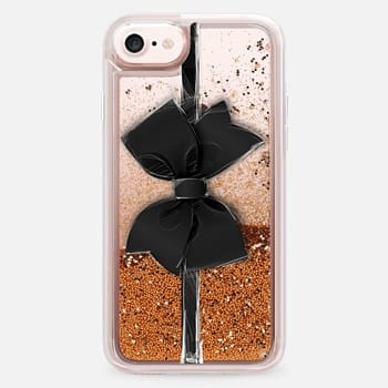 iPhone 7 Case Black Bow