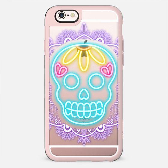 Neon Skull - New Standard Case
