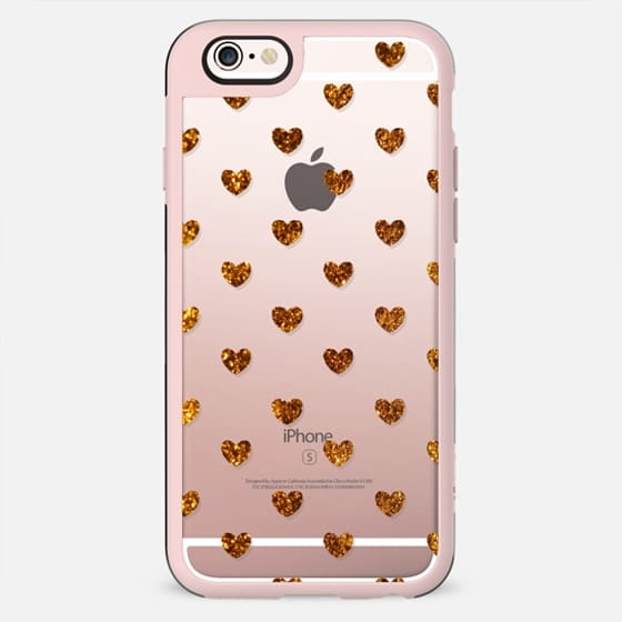 Gold Hearts - New Standard Case