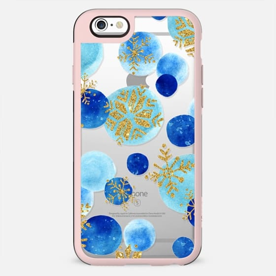 gold snowflakes - New Standard Case