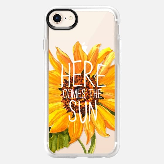 Here Comes The Sun - Snap Case