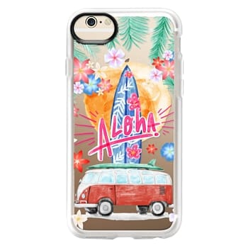 Grip iPhone 6 Case - Aloha Hawaii