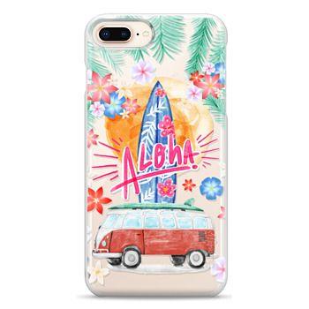 Snap iPhone 8 Plus Case - Aloha Hawaii