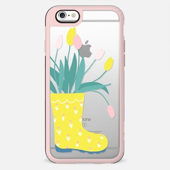 Rain Boots and tulips - New Standard Case
