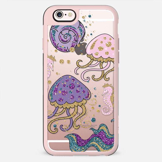 glitter sea creatures