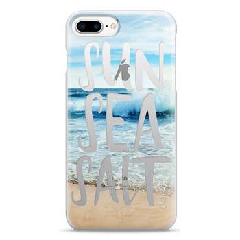 Snap iPhone 7 Plus Case - SUN SEA SALT
