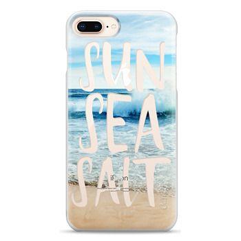 Snap iPhone 8 Plus Case - SUN SEA SALT