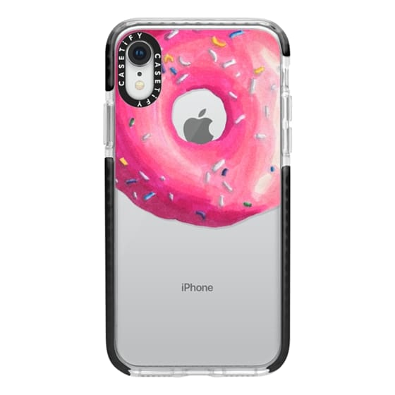 iPhone XR Cases - Pink Glaze Donut