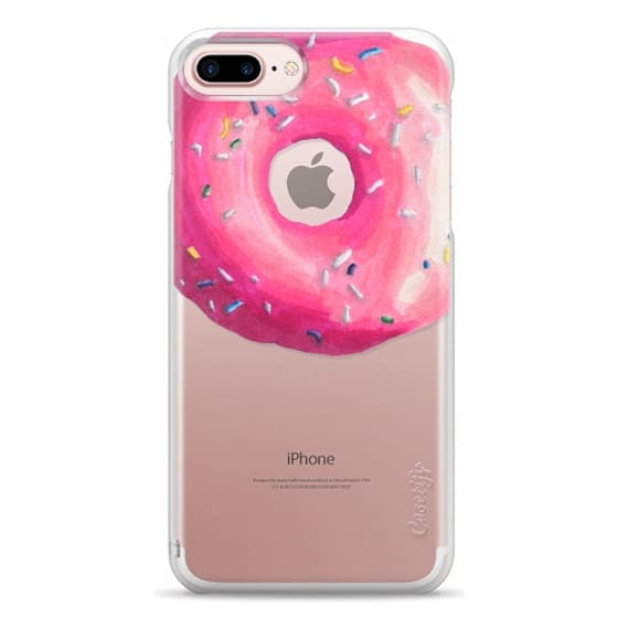 iPhone 7 Plus Cases - Pink Glaze Donut
