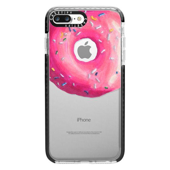 iPhone 7 Plus Cases - Pink Glaze Donut
