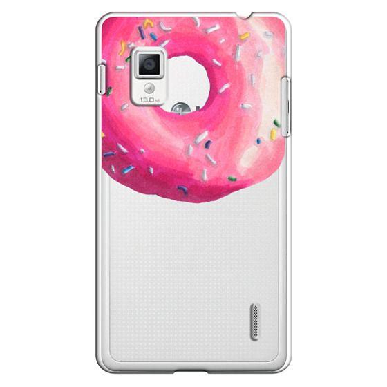 Optimus G Cases - Pink Glaze Donut