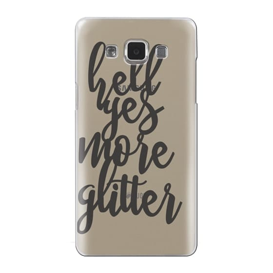 Samsung Galaxy A5 Cases - hell yes more glitter
