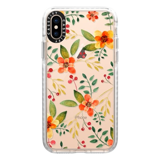 iPhone XS Cases - Floral Pattern