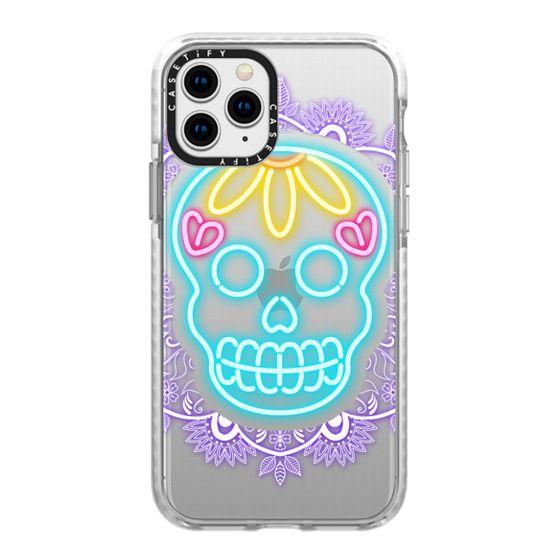 iPhone 11 Pro Cases - Neon Skull