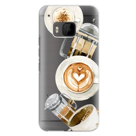 Htc One M9 Cases - Coffee
