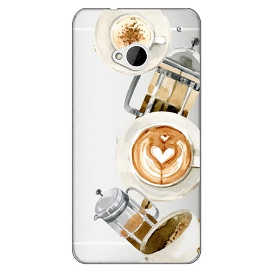 Htc One Cases - Coffee